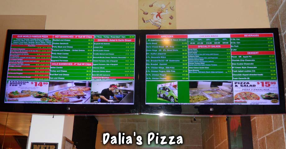 HD Sign Design digital menu boards for sale