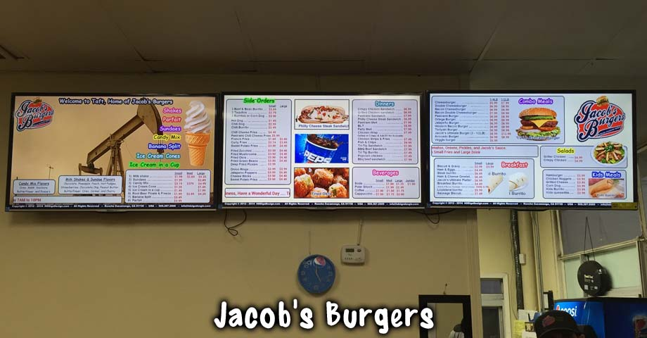 HD Sign Design digital menu display