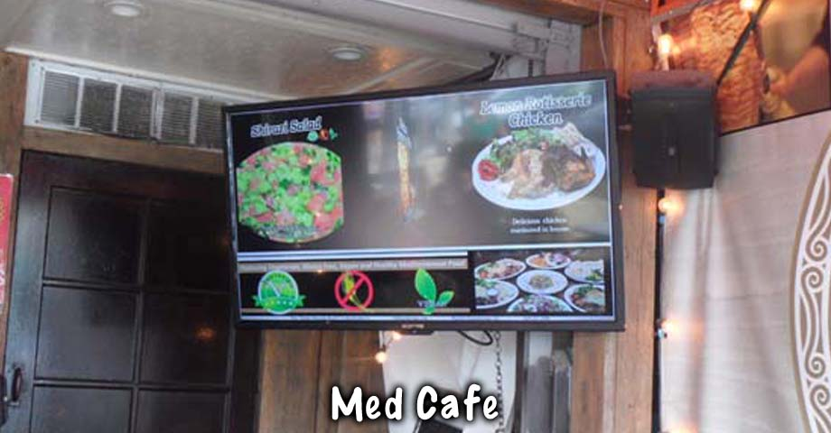 HD Sign Design digital menu maker