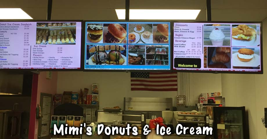 HD Sign Design digital menu player